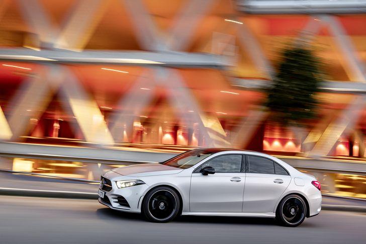 Mercedes-Benz A-Klasse Limousine, V177, 2018 Mercedes-Benz A-Class Sedan, V177, 2018