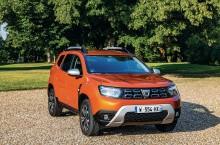 2021 - New Dacia Duster 4X2 - Arizona Orange tests drive (10)
