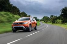 2021 - New Dacia Duster 4X2 - Arizona Orange tests drive (3)