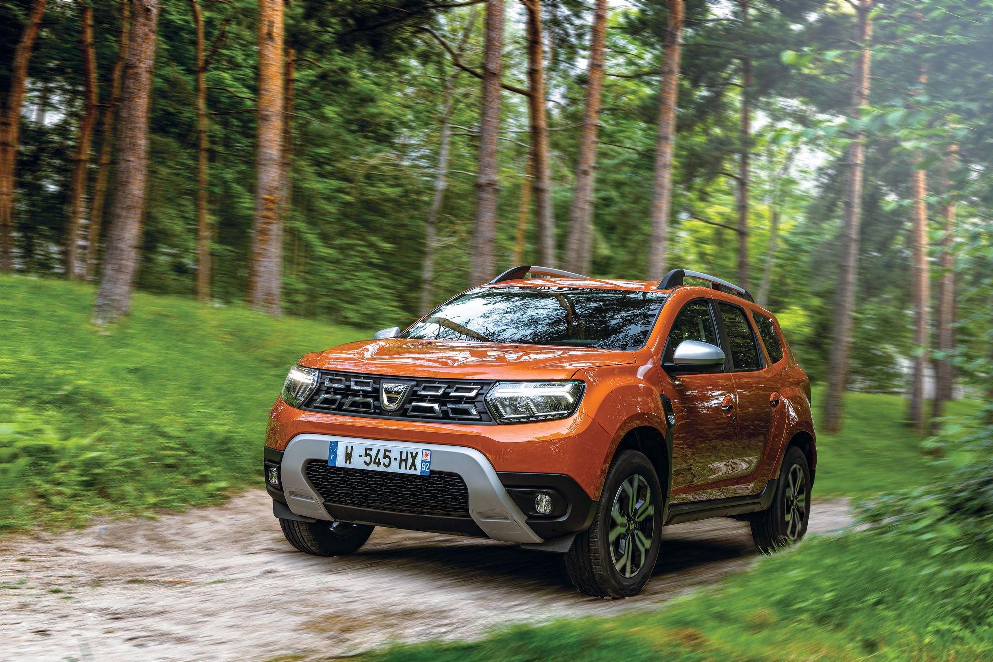 2021 - New Dacia Duster 4X2 - Arizona Orange tests drive (5)