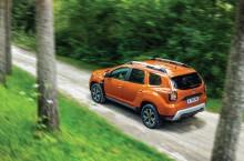 2021 - New Dacia Duster 4X2 - Arizona Orange tests drive (6)