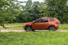 2021 - New Dacia Duster 4X2 - Arizona Orange tests drive (7)