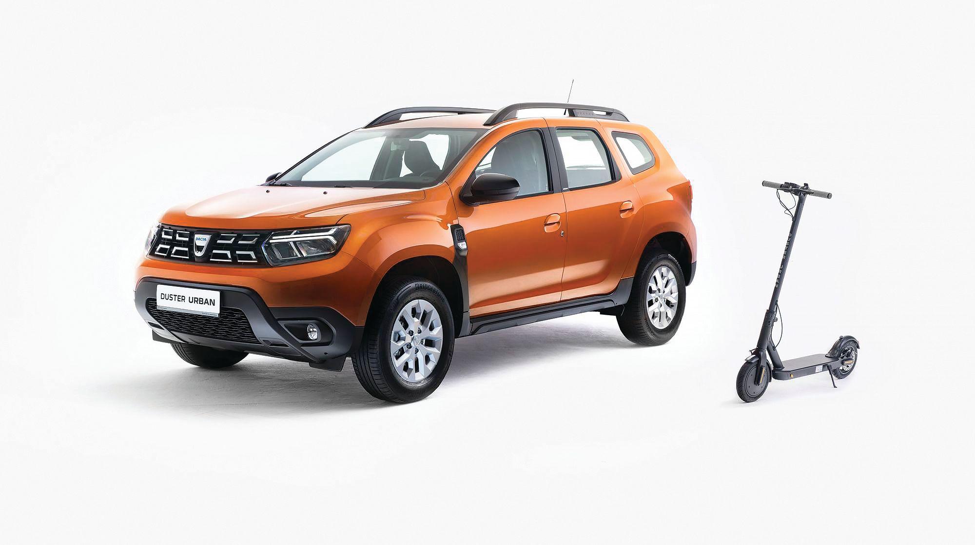 Dacia Duster trotineta
