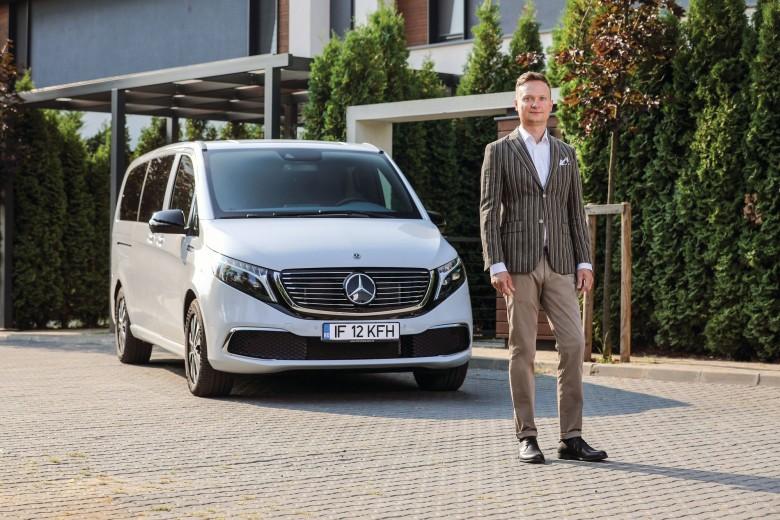 EQV și Alexandru Rugină, COO Mercedes-Benz Vans România