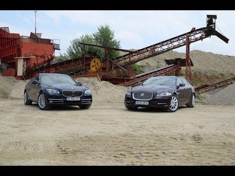 Test Video Comparativ Jaguar XJ vs BMW Seria 7 Tribut BMW M3