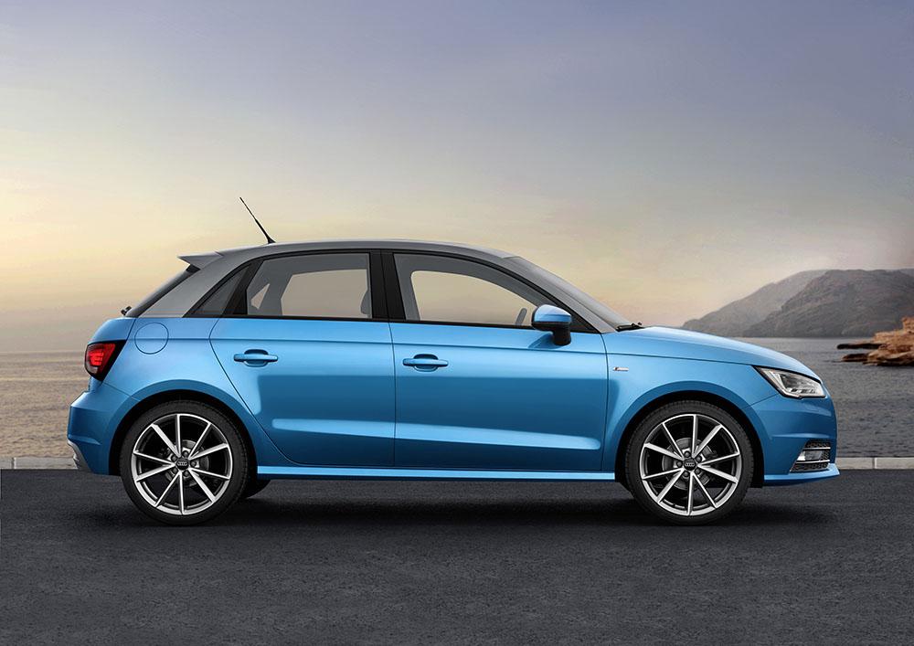 Audi A1 și A1 Sportback – Motorizările în trei cilindri câștigă din ce în ce mai mult teren