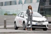Roxana Ionescu & Toyota Corolla: Frumoasă cu un scop precis