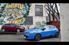 Test Video: Comparativ Renault Clio vs Ford Fiesta