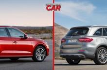 Audi Q5 vs Mercedes-Benz GLC
