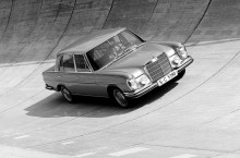 Mercedes-Benz 300 SEL 6.3: un proiect început în secret