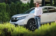 Gáspár György și Honda CR-V Hybrid – Inteligență relațională