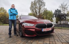 Adelin Petrișor și BMW Seria 8 Gran Coupé: Corespondentul pasiunii